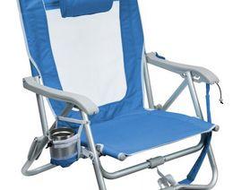Bi-Fold Slim Beach Chair