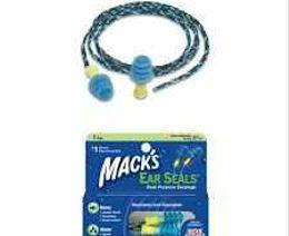 Tapones para los oidos Macks