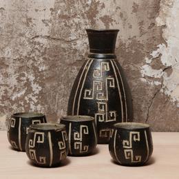 Set Pisco Sour Ona - Jarro con 4 vasos
