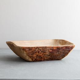 Fuente madera corteza