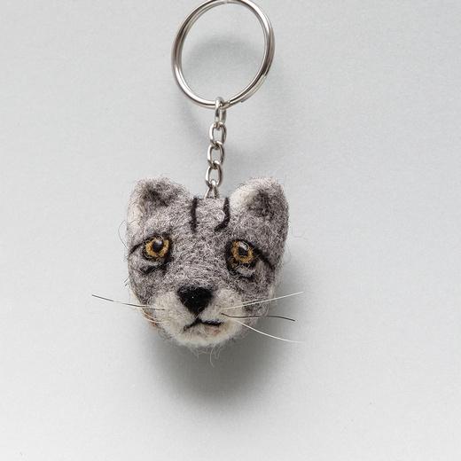 Llavero Gato Andino