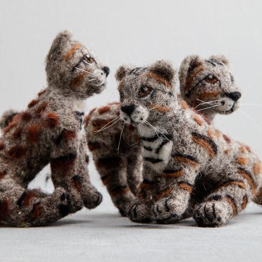 Figura Gato Andino Ona Cat Crafts Grande