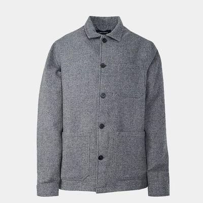 Original Wool Herringbone Overshirt
