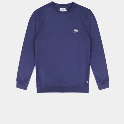 Navy Lind Wax Sweatshirt