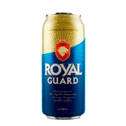 Cerveza Royal Guard Lata 470cc