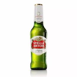 Cerveza Stella Artois Lager Botella 330cc