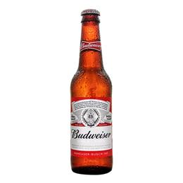 Budweiser Lager Botella 355cc