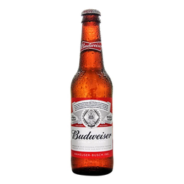 Cerveza Budweiser Lager Botella 355cc