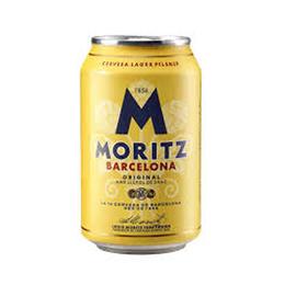 Cerveza Moritz Lager Lata 330cc