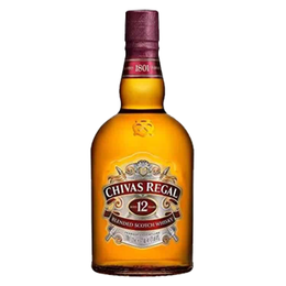 Chivas Regal 12 Años Botella 1Lt