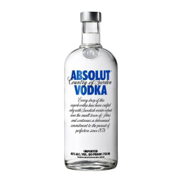 Vodka Absolut Blue Botella 750cc