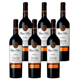 Vino Casa Silva Reserva Cuvee Cabernet Sauvignon Botella 750cc x6