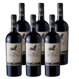 Vino Toro de Piedra Gran Reserva Merlot Botella 750cc x6