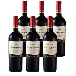 Vino Casa Donoso Evolución Reserva Cabernet Sauvignon Botella 750cc x6
