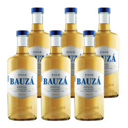 Pisco Bauza 35º Botella 1Lt x6