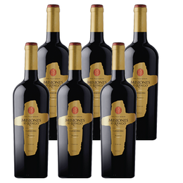 Vino Misiones de Rengo Reserva Carmenere Botella 750cc x6