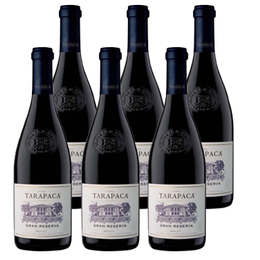 Vino Tarapaca Gran Reserva Merlot Botella 750cc x6