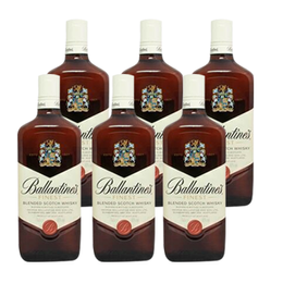 Whisky Ballantines Finest Botella 750cc x6