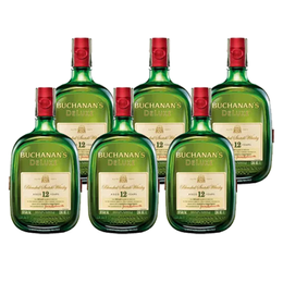 Whisky Buchanans 12A Botella 750cc x6