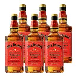 Jack Daniels Fire Botella 750cc x6