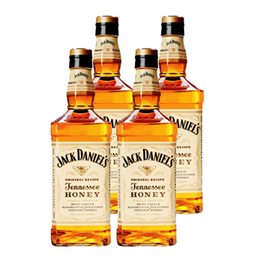 Whiskey Jack Daniels Honey Botella 750cc x4
