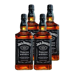 Whiskey Jack Daniels N7 Botella 750cc x4