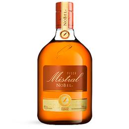 Pisco Mistral Nobel 40° Botella 750cc