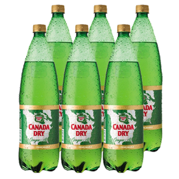 Canada Dry Ginger Ale Botella 1.5Lts x6