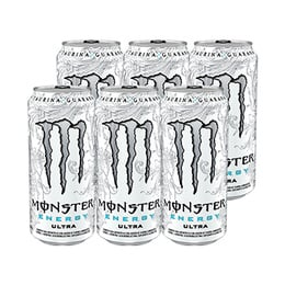 Monster Energy Ultra Sin Calorías Lata 473cc x6