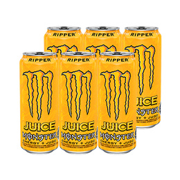 Monster Energy Juice Ripper Lata 473cc x6