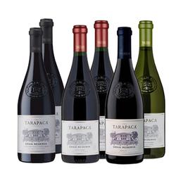 Tarapaca G.Reserva 2 Cab. Sauvignon +2 Carmenere + 1 Merlot +1 Sauv. Blanc 750cc