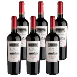 Vino Santa Ema Select Terroir Cabernet Sauvignon Botella 750cc x6