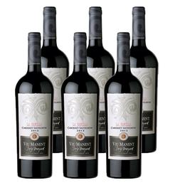 Vino Viu Manent Single Vineyard La Capilla Cabernet Sauvignon Botella 750cc x6