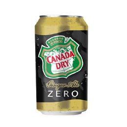 Canada Dry Ginger Ale Zero Lata 350cc