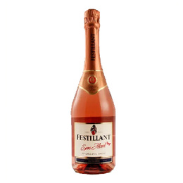 Espumante Festillant Rose Sin Alcohol Botella 750cc