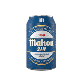 Cerveza Mahou Sin Alcohol Lata 330cc