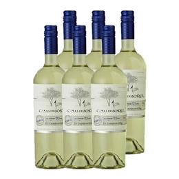 Vino Casas del Bosque Reserva Sauvignon Blanc Botella 750cc x6