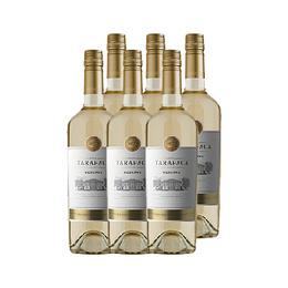 Vino Tarapaca Reserva Sauvignon Blanc Botella 750cc x6