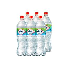 Agua Mineral Vital Sin Gas Botella 1.6 Lts x6