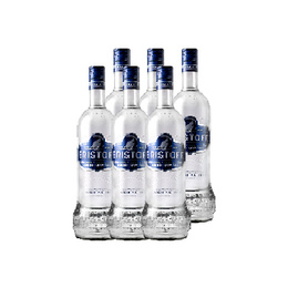 Vodka Eristoff Botella 1 Lt x6