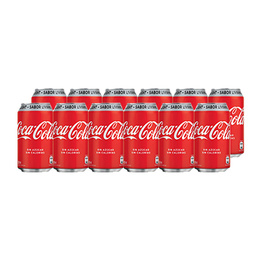 Coca Cola Light Lata 350cc x12