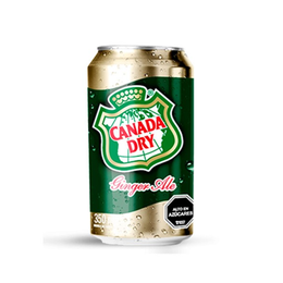 Canada Dry Ginger Ale Lata 350cc