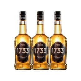 Pisco 1733 35° Botella 1Lt x3