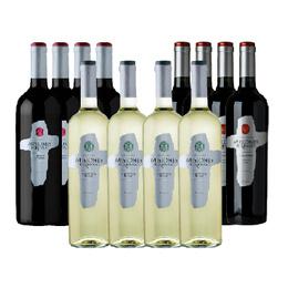 Vino Misiones de Rengo Varietal 4 Carmenere + 4 Cabernet Sauvignon + 4 Sauvignon Blanc Botella 750cc