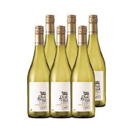 Vino Oveja Negra Reserva Sauvignon Blanc / Carmenere Botella 750cc x6