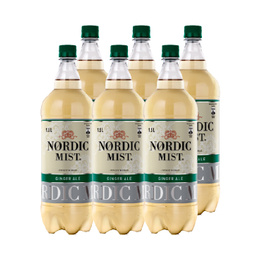Nordic Ginger Ale Botella 1,5 Lts x6