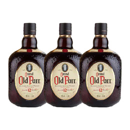 Whisky Old Parr 12 Años Botella 750cc x3