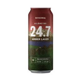 Cerveza KM 24.7 Amber Lata 473cc