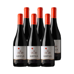 Vino Koyle Single Vineyard Syrah Botella 750cc x6