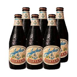 Cerveza Anchor Porter Botella 355cc x6